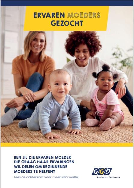 Moeders informeren moeders - voorzijde